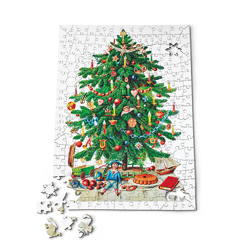 Victorian Christmas Tree Puzzle