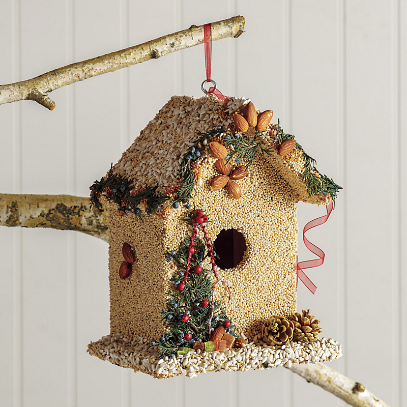 Bed & Breakfast Birdseed Birdhouse