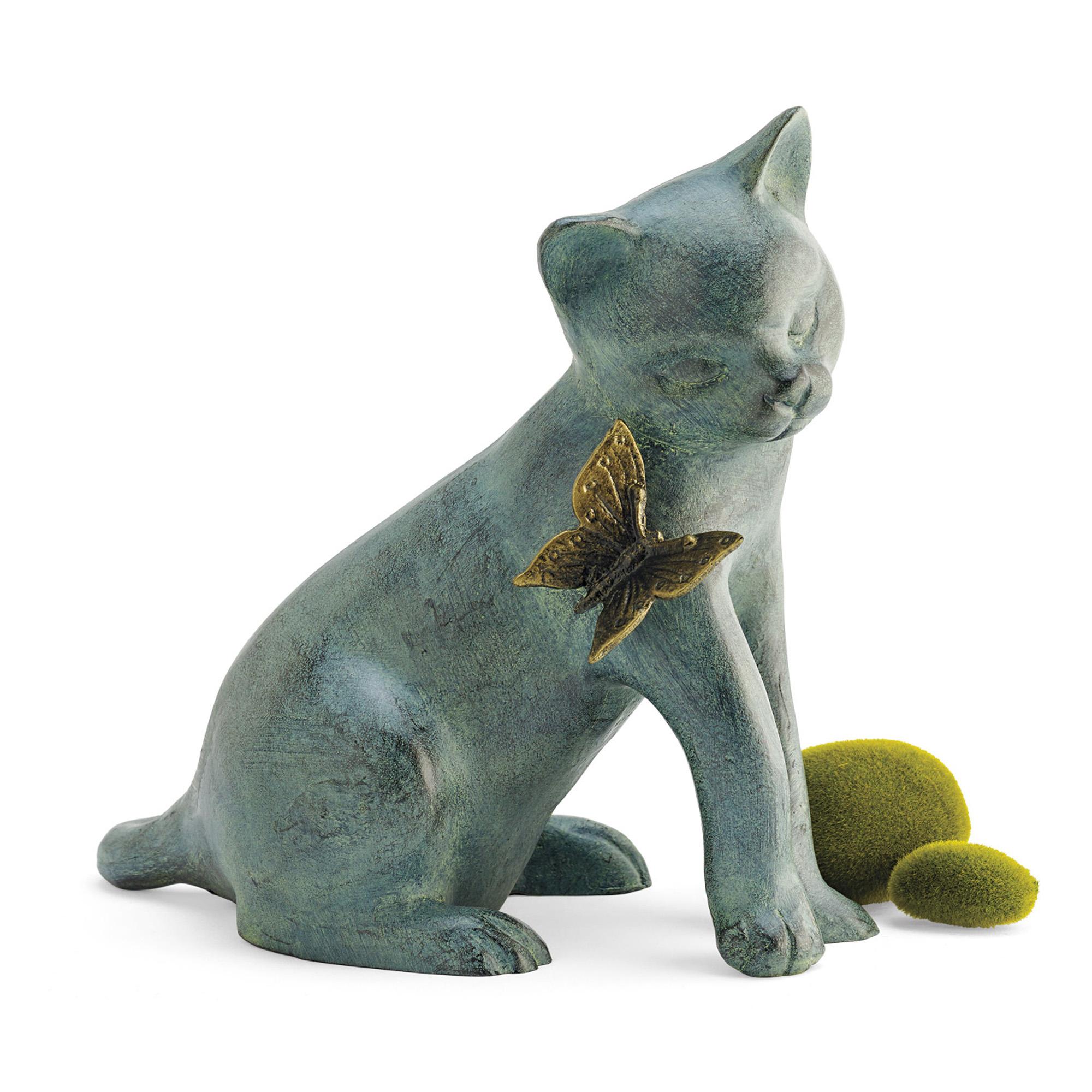 stone cfm statue cat master cast garden hayneedle pumpkin international a campania on product