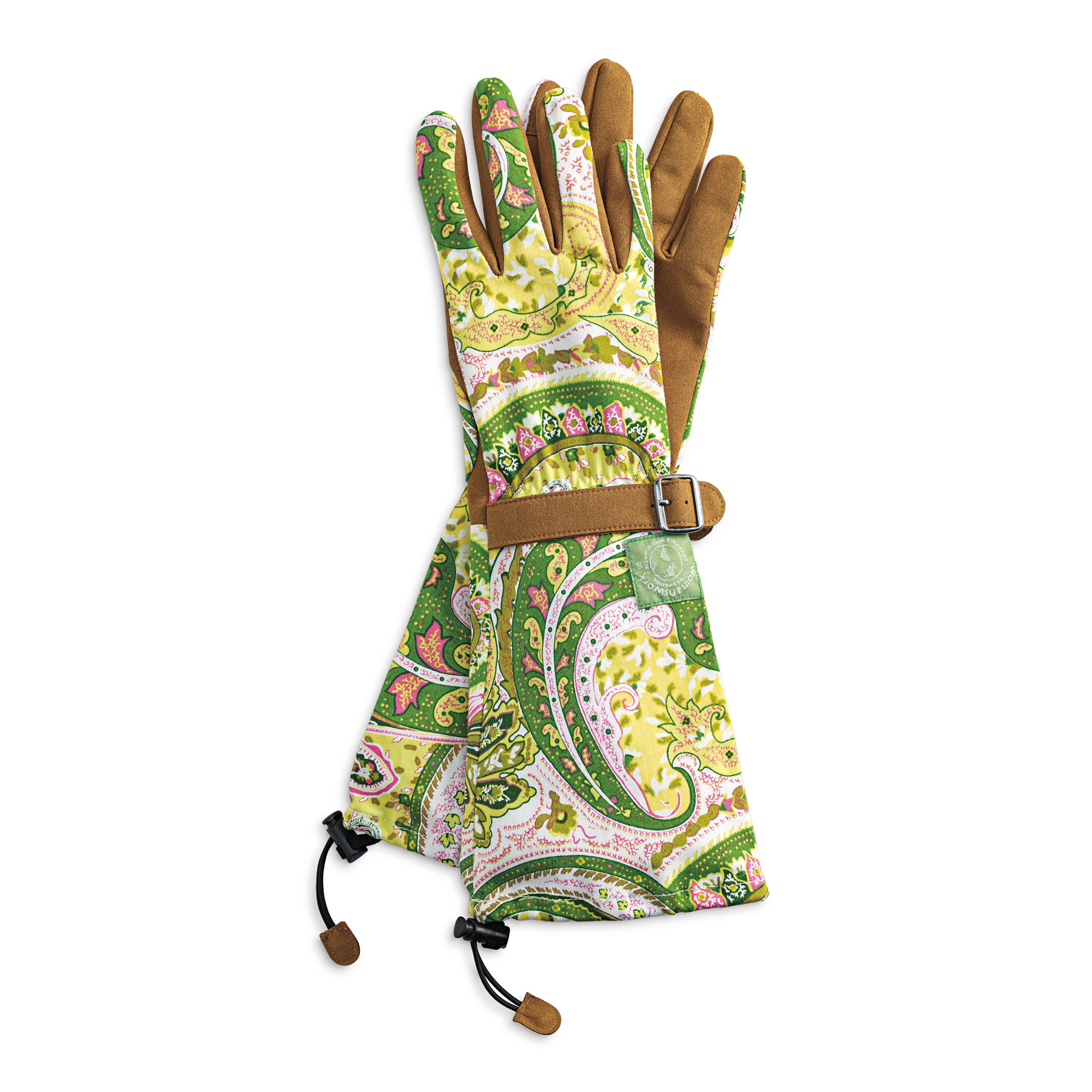 Paisley Garden Gloves