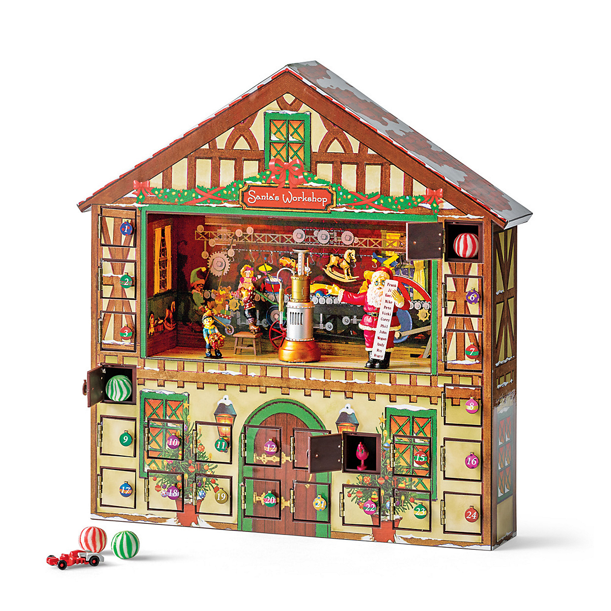 Animated Santa's Workshop Advent Calendar