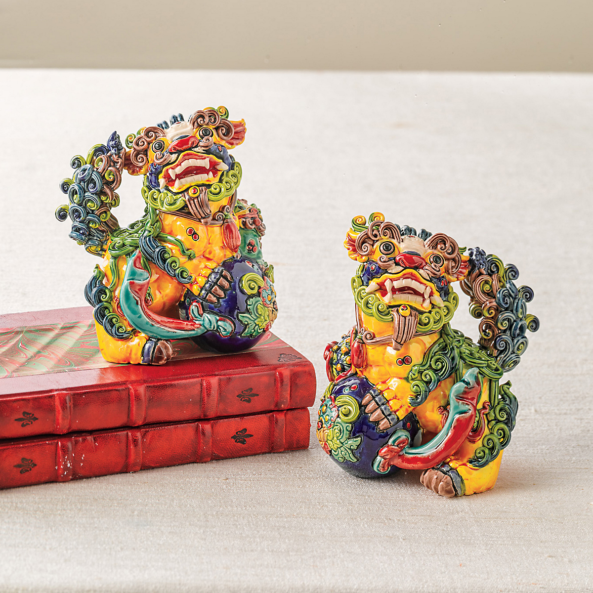Dynasty Foo Dog Figures
