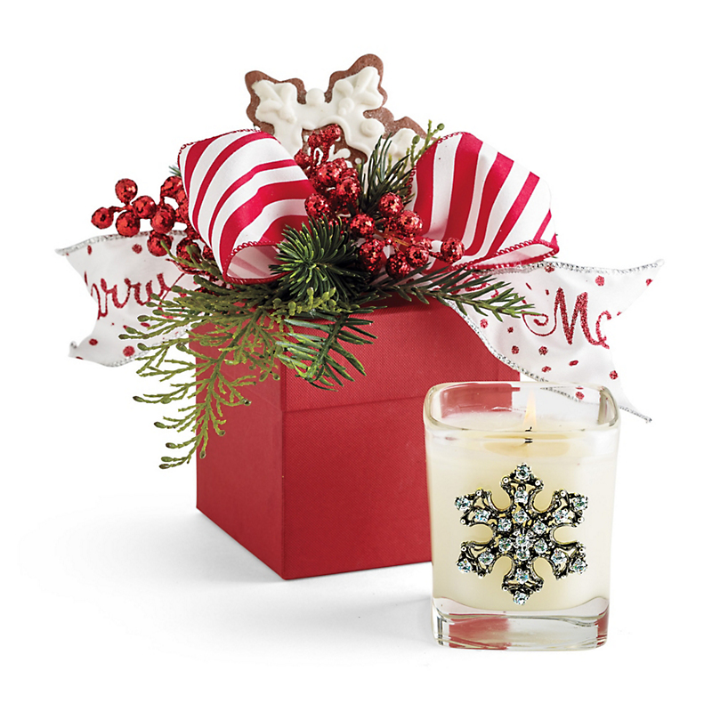 Winter Wonderland Snowflake Candle