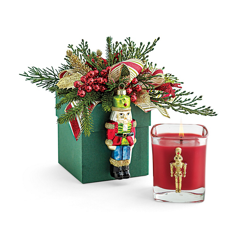 Swarovski Nutcracker Candle