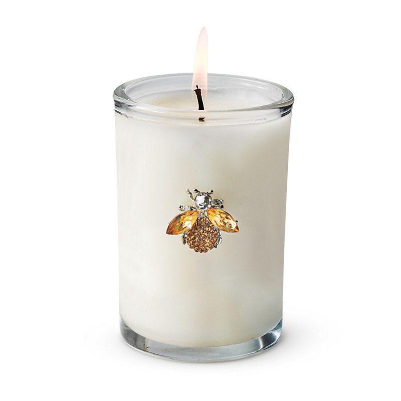 Swarovski French Bee Crystal Candle