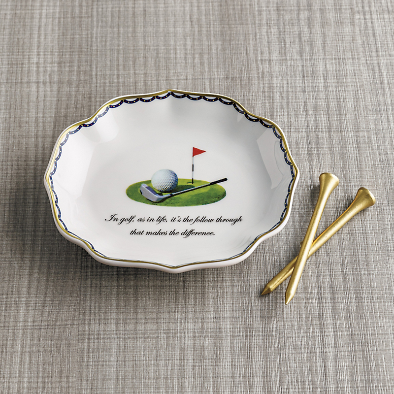'In Golf As In Life...' Dish
