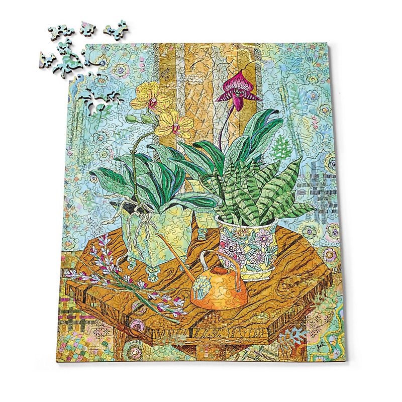 'Orchids In East Window' Puzzle