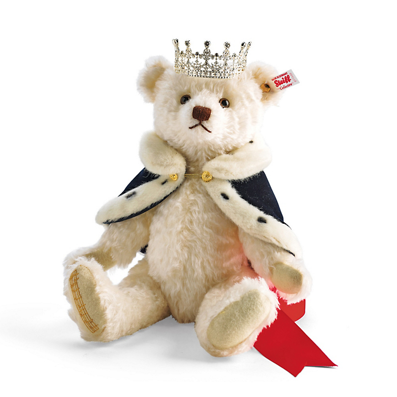 Steiff 'Long To Reign Over Us' Queen Elizabeth II Teddy Bear