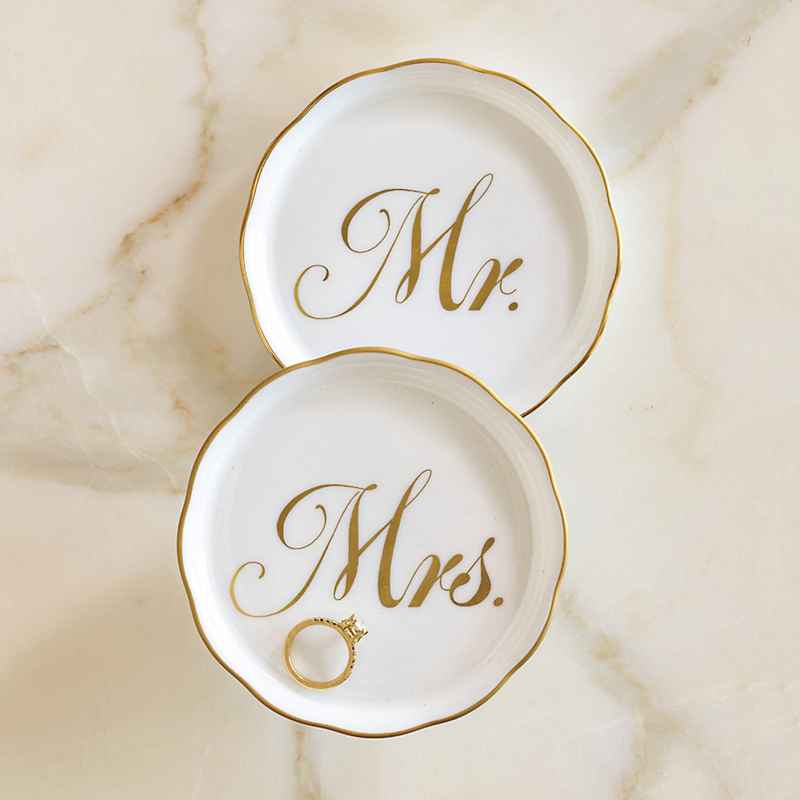 Herend Mr. & Mrs. Dishes