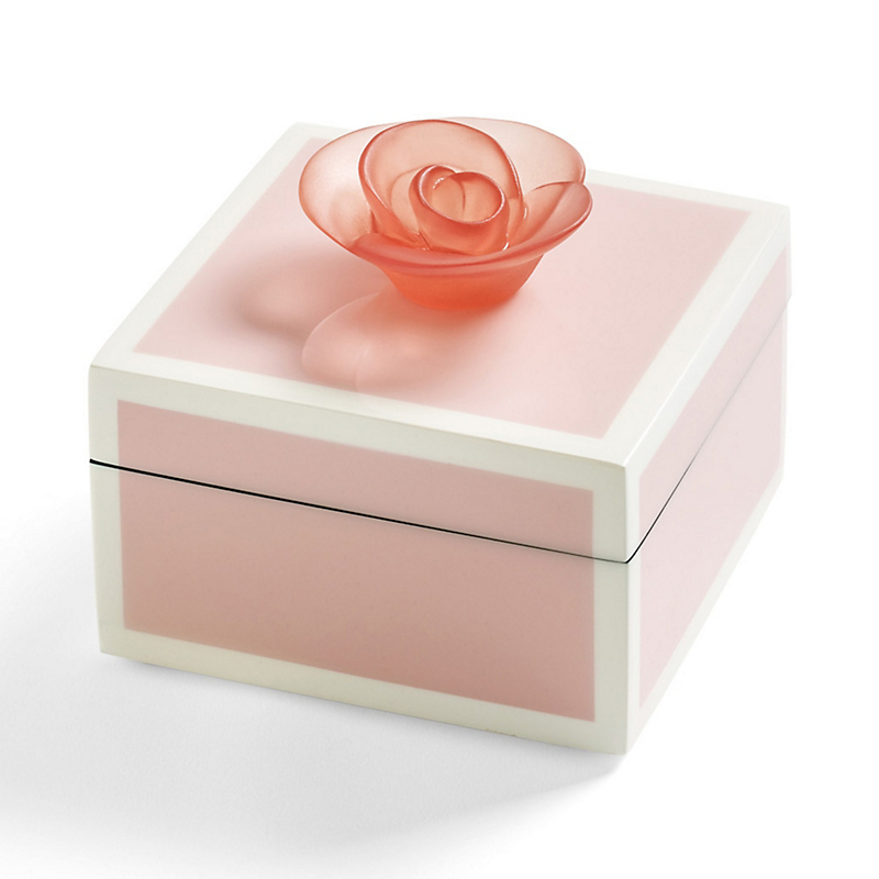 Rose Lacquered Box