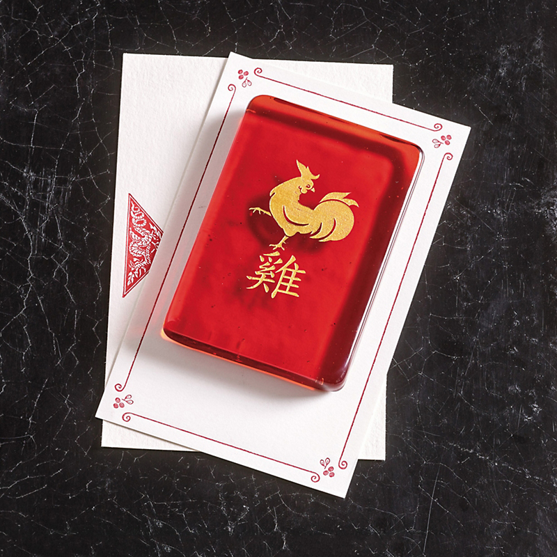 Year Of The Rooster Paperweight