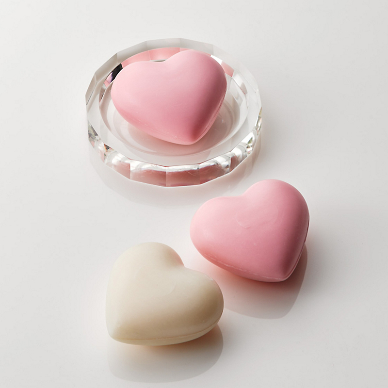 Heart-Shaped Soaps