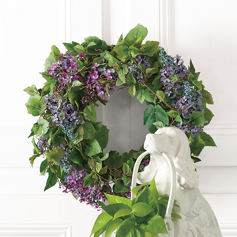 Oakville Lilac Wreath