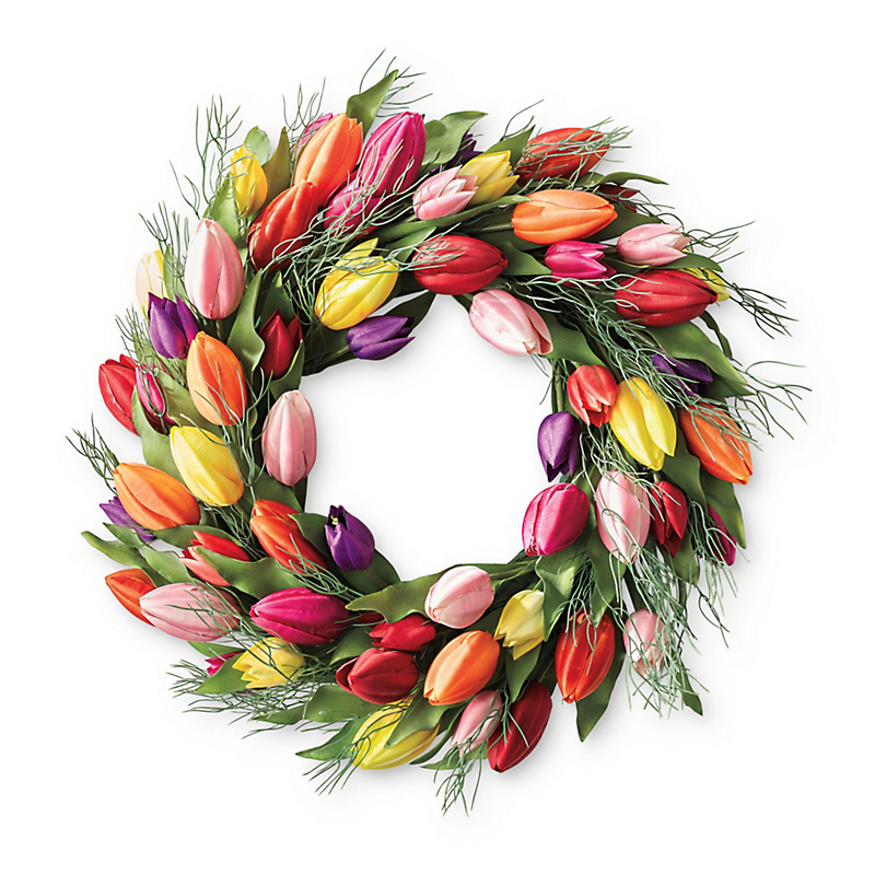 Splendid Tulip Wreath