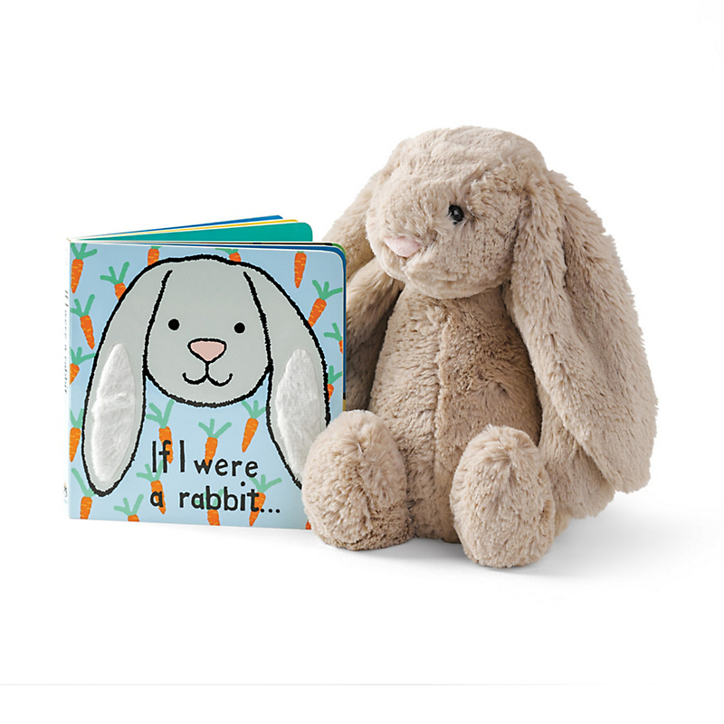 Plush Bashful Bunny & Book Set