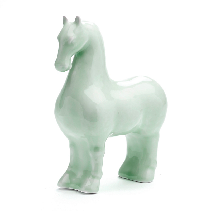Celadon Standing Horse