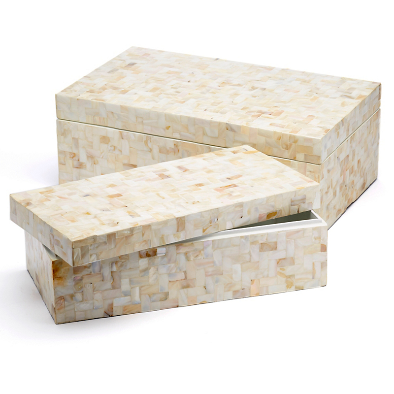 Mother-Of-Pearl Boxes