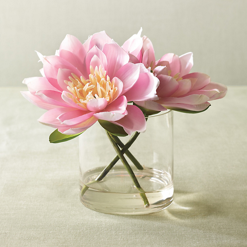 Serene Pink Lotus Arrangement