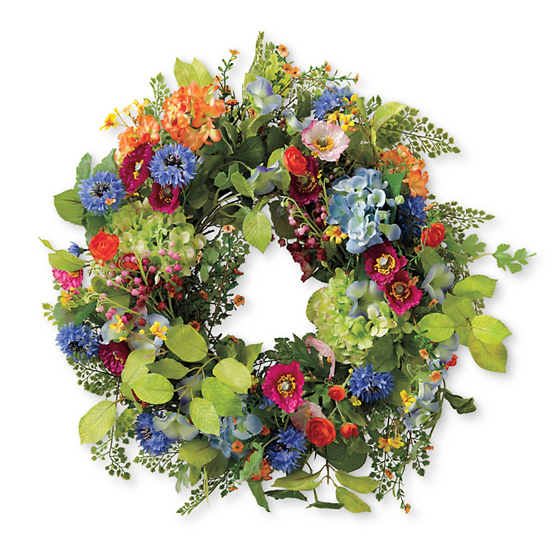 Prado Wildflower Wreath