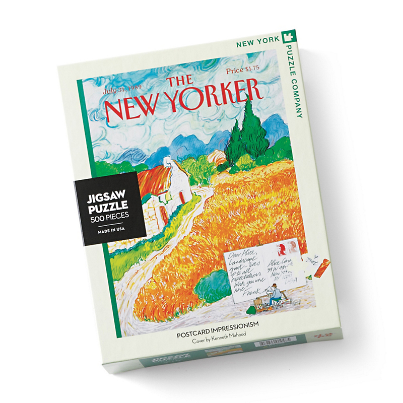The New Yorker Summer Impressions Puzzles, Set Of 2