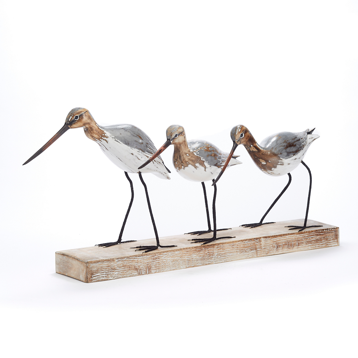 Godwit Bird Trio Figures