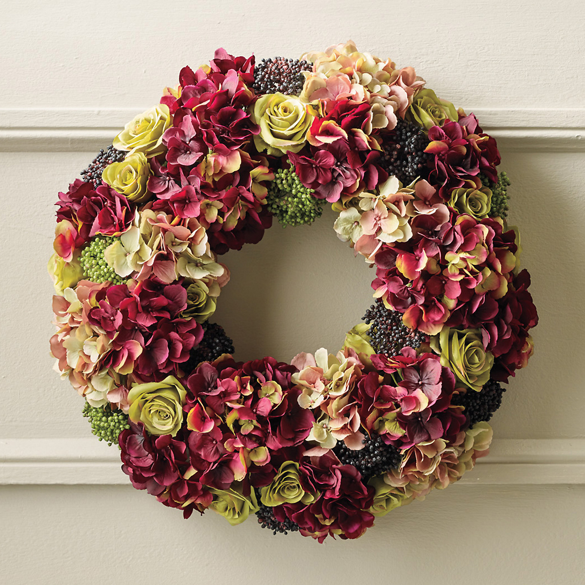 Cambridge Hydrangea Wreath