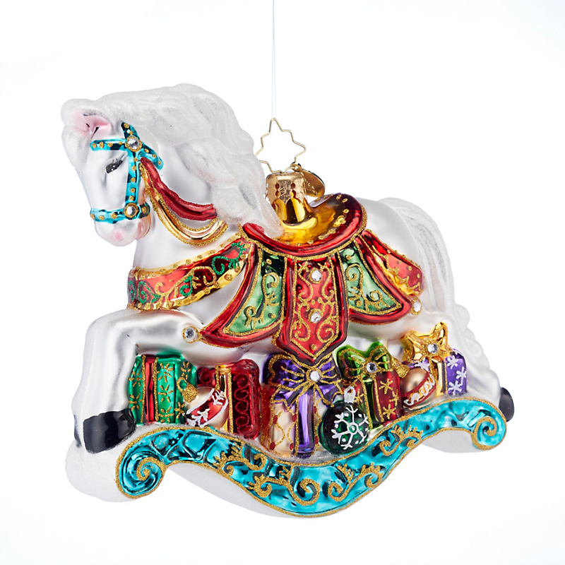 Christopher Radko 2017 Little Pony Prize Ornament