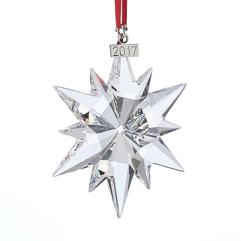 Swarovski Annual Collectible Crystal Snowflake Ornament