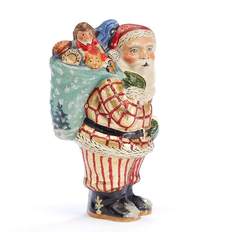 Vaillancourt Santa With Sack