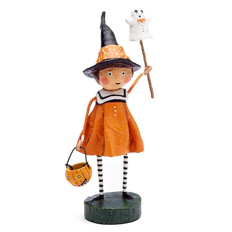 Trick-Or-Treat Precious Pumpkin Collectible