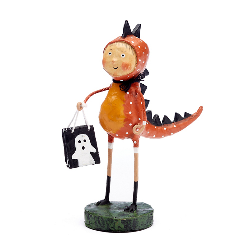 Trick-Or-Treat Dinky Dinosaur Collectible