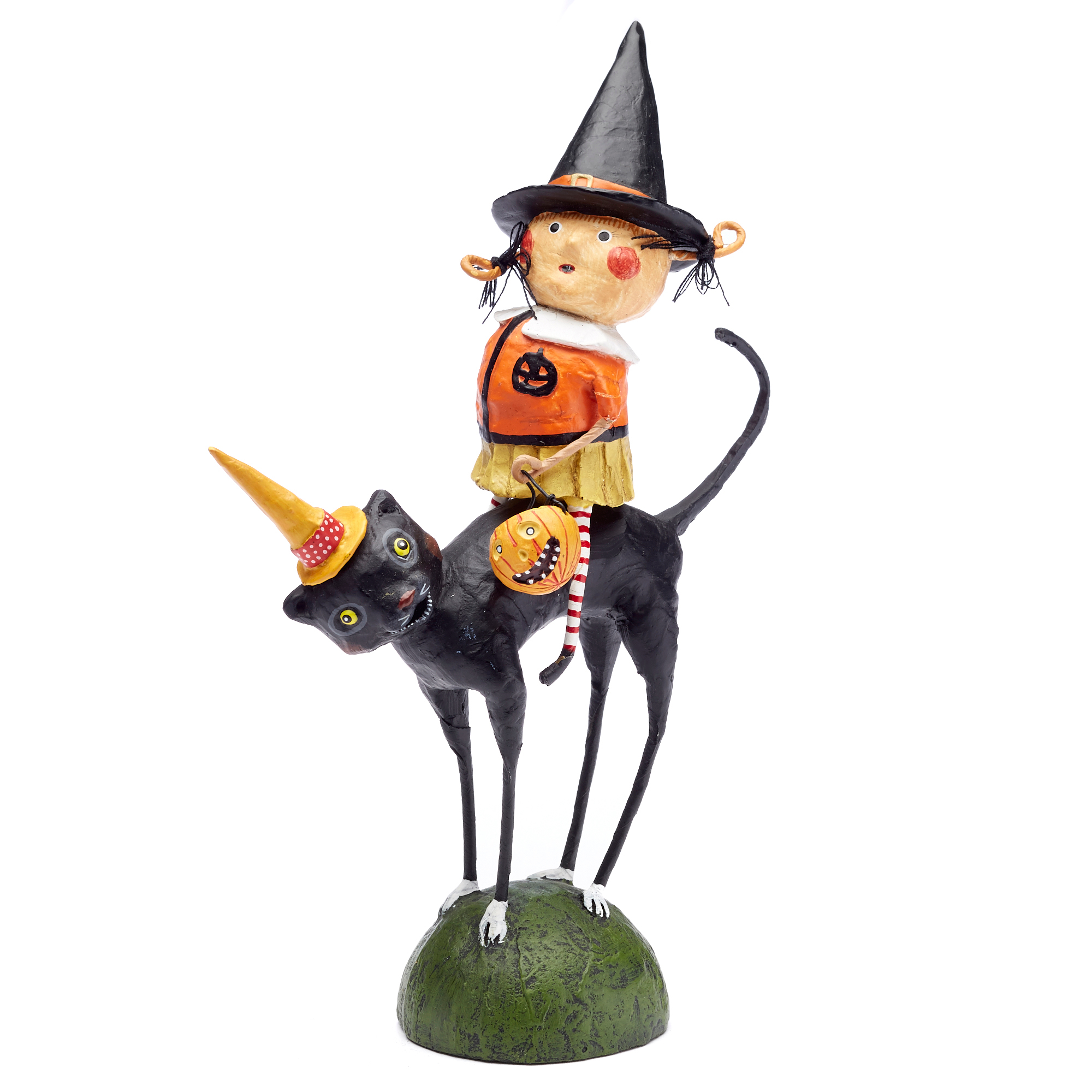 Trick-Or-Treat Sissy & Her Cat Collectible
