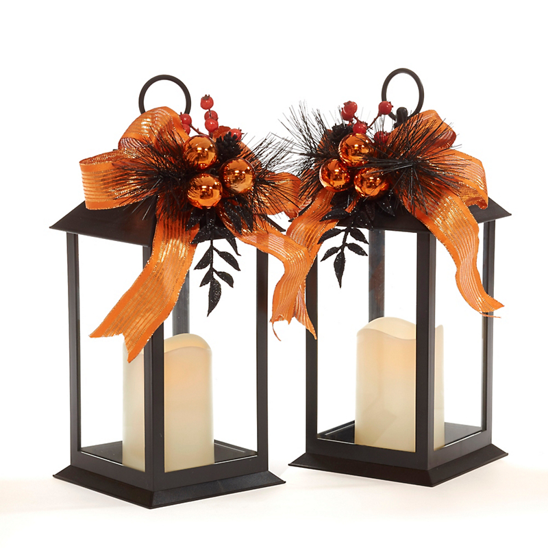 Harvest Flameless Lanterns