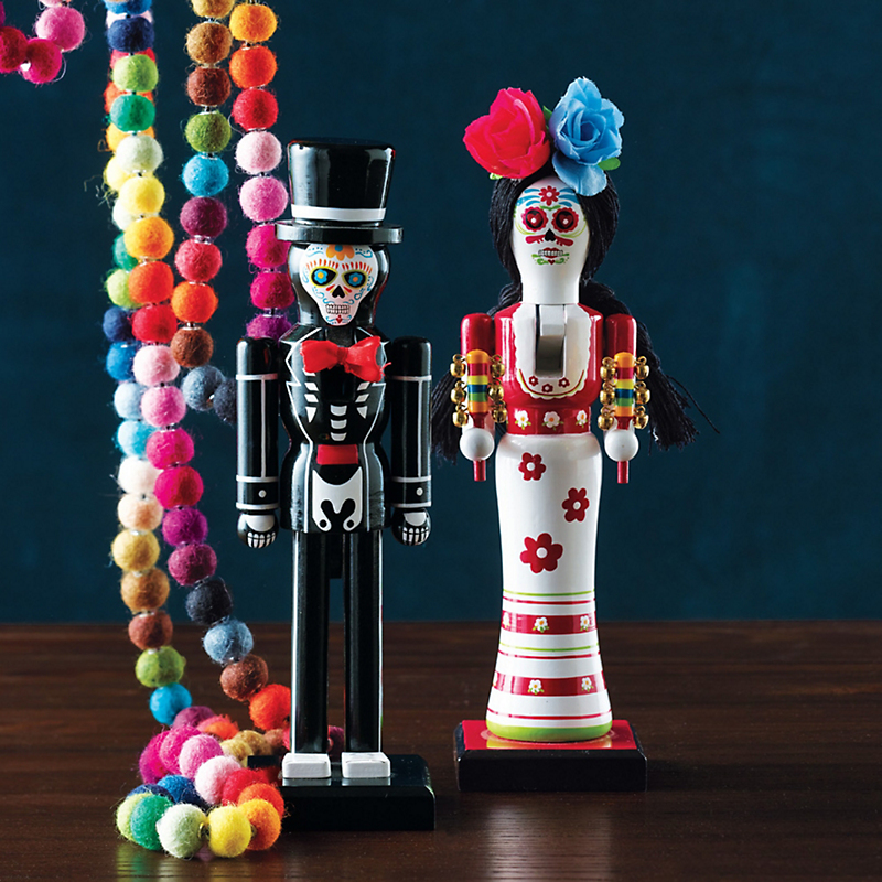 Day Of The Dead Nutcracker Couple