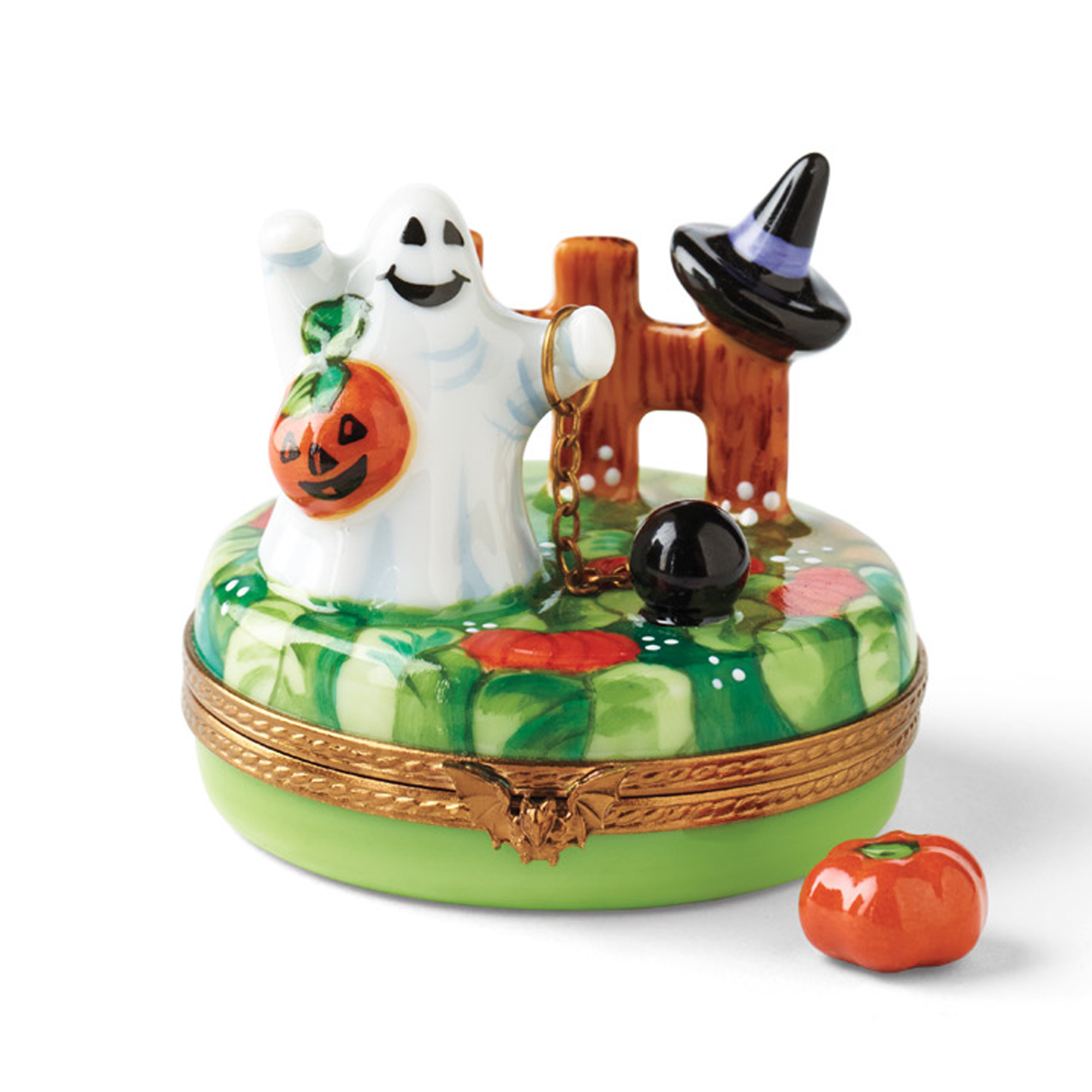 Limoges Spirited Ghostly Halloween