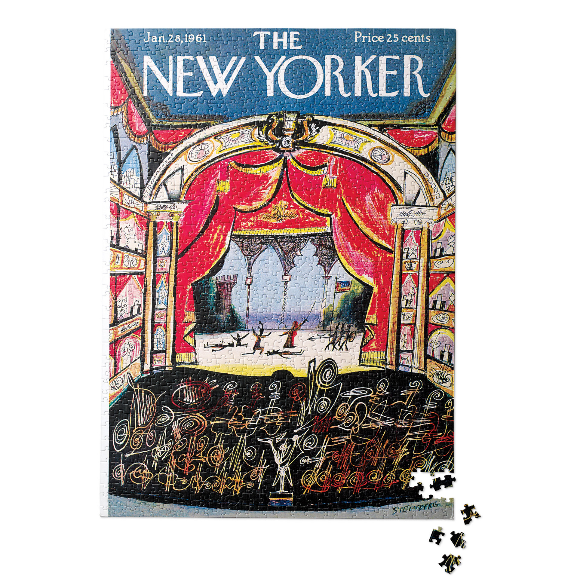New Yorker Musical Puzzles