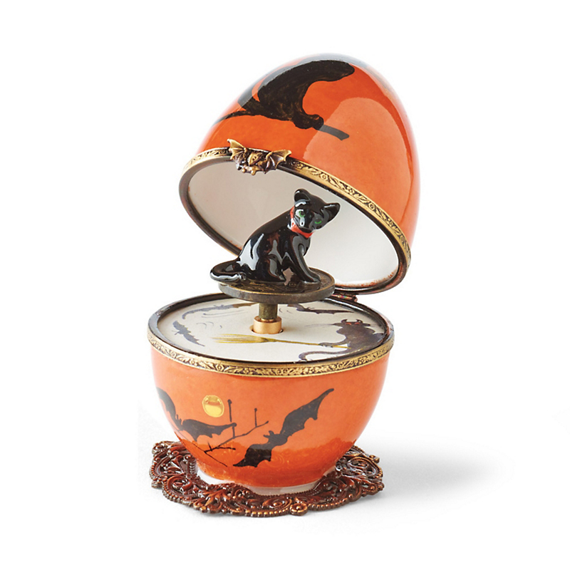 Le Chat Limoges Music Box