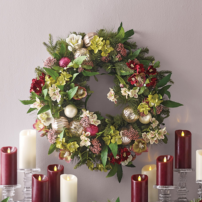 Holiday Helleborus Wreath