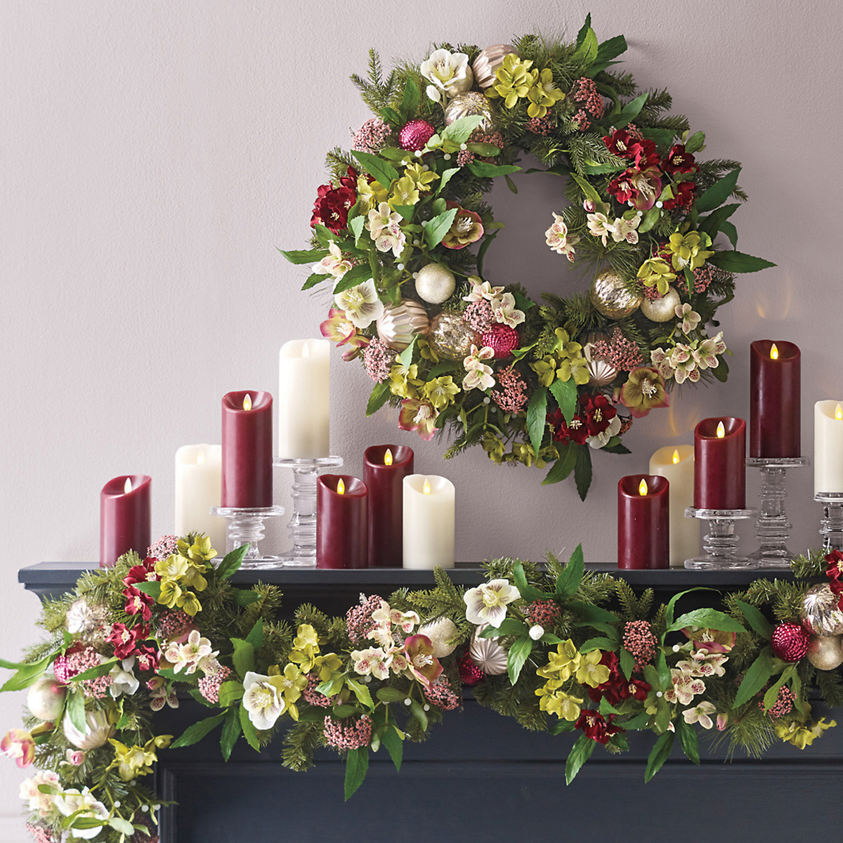 Holiday Helleborus Garland