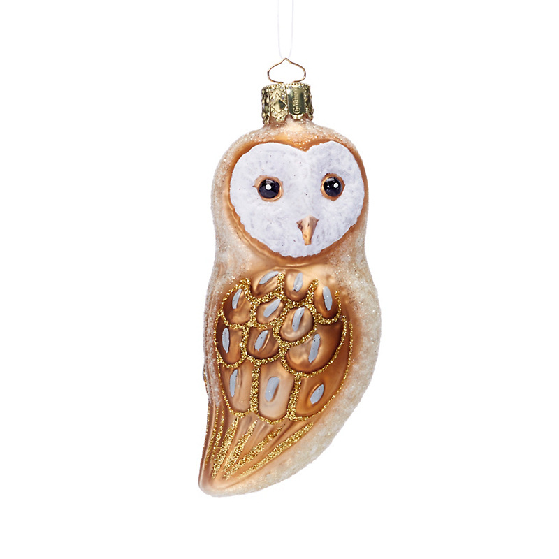 Winter Wonderland Winter Barn Owl Ornament