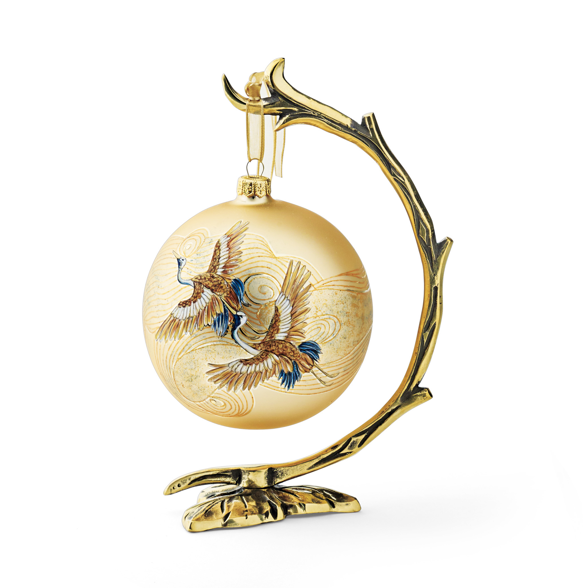 2017 Limited-Edition Crane Ball Ornament