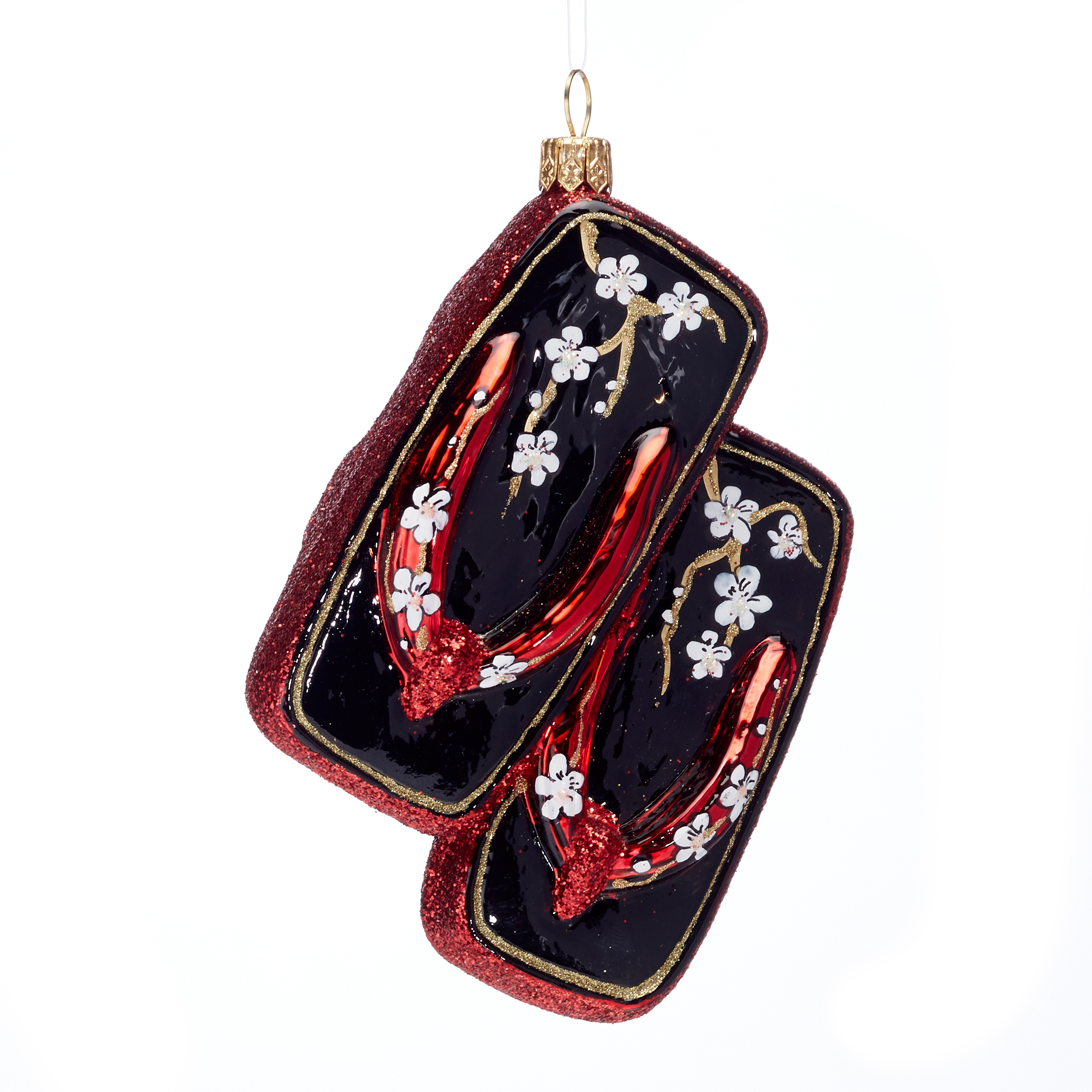 Geisha Sandals Christmas Ornament