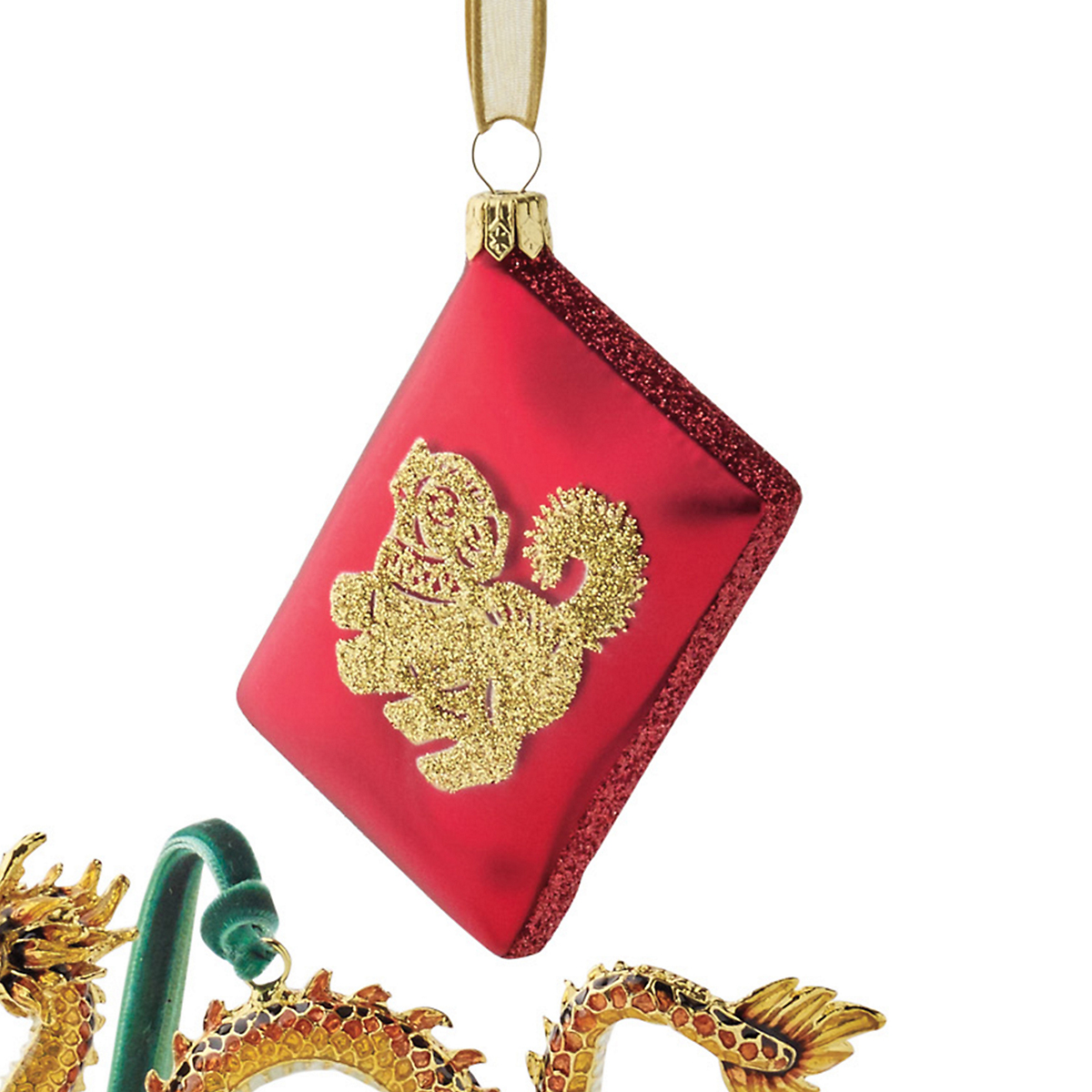 2018 Year Of The Dog Red Envelope Christmas Ornament