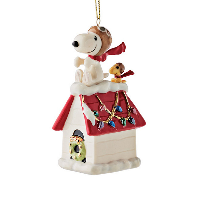 Snoopy & Woodstock Christmas Ornament