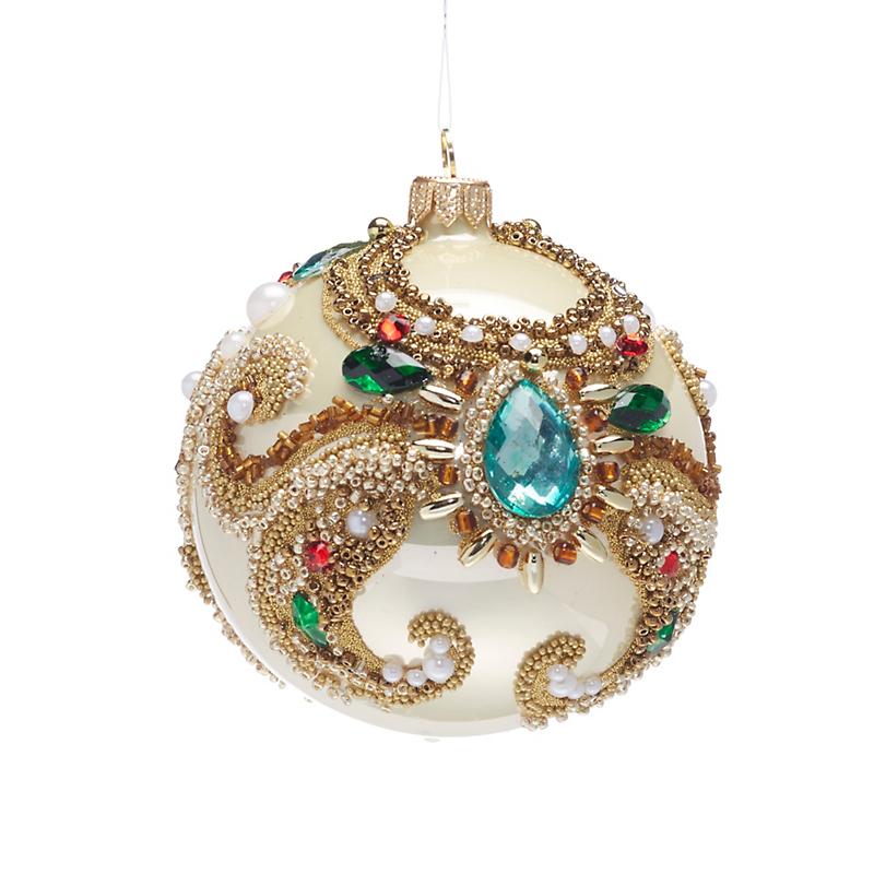 Floral Sphere Ornament