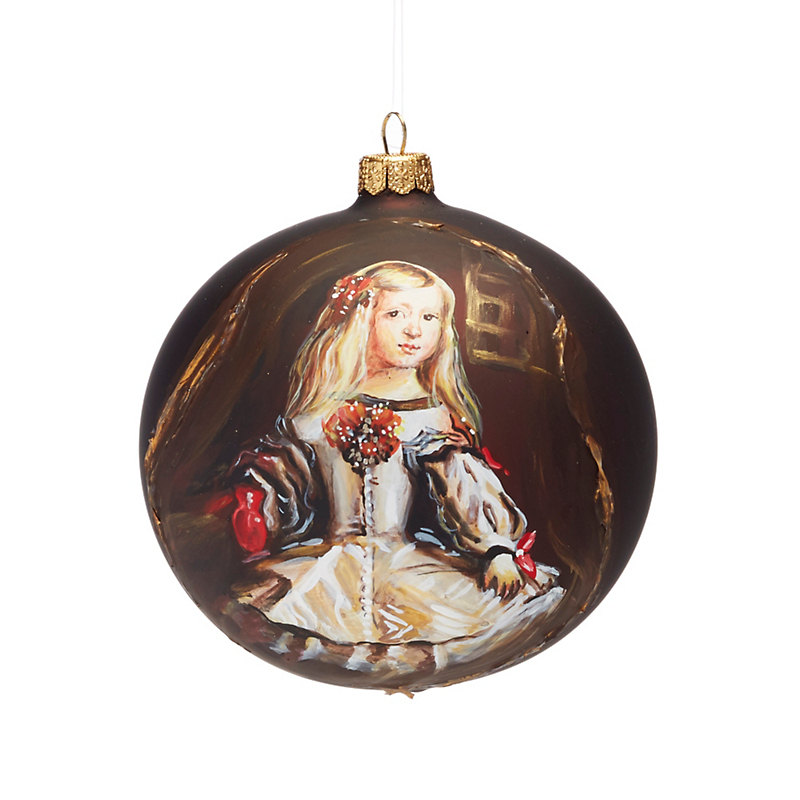 Old Masters Infanta Margarita Ornament