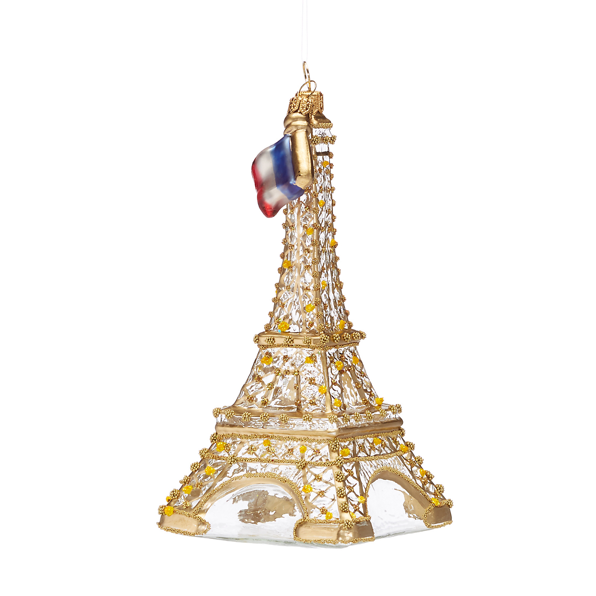 City Of Light Eiffel Tower Christmas Ornament
