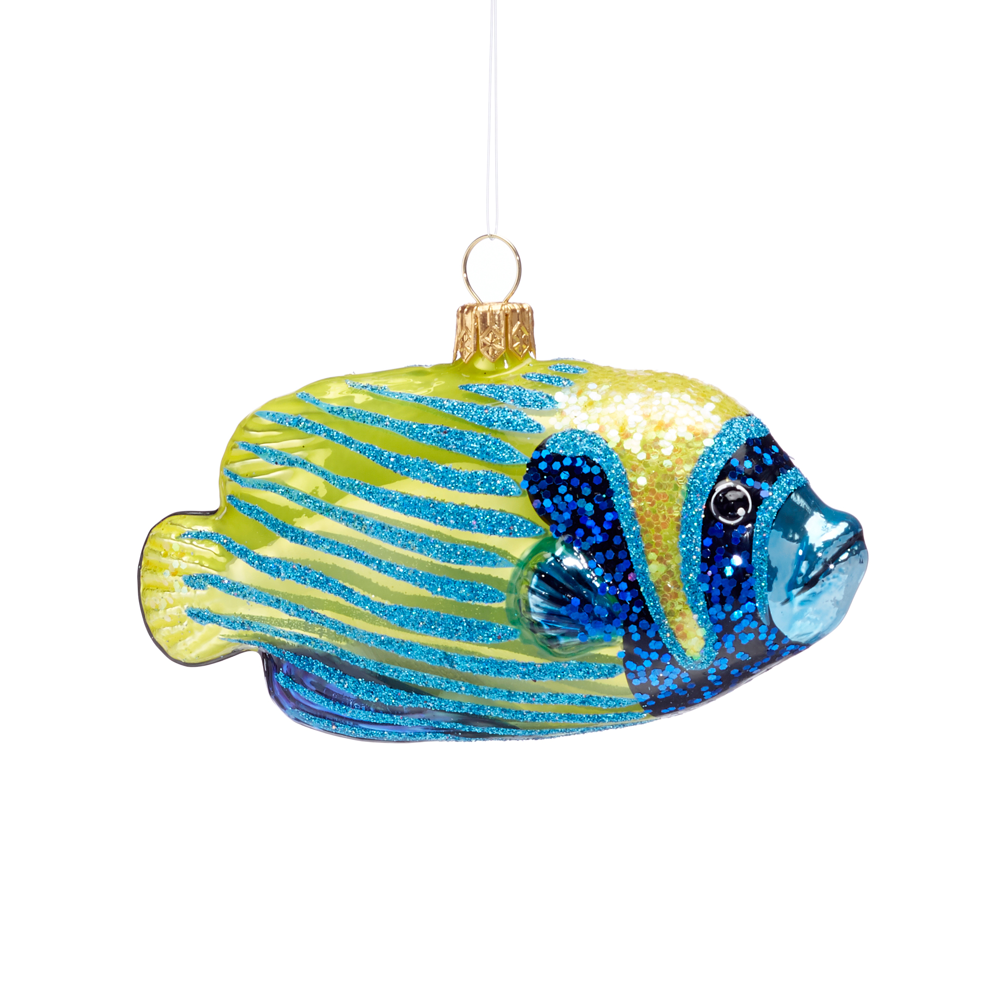 Tropical Fish Christmas Ornament