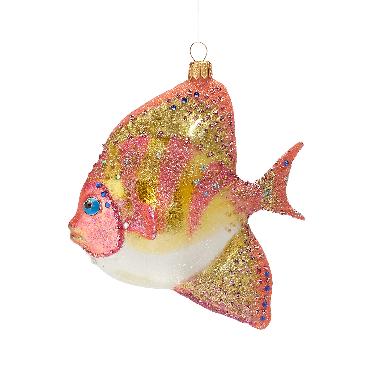 Under-The-Sea Tropical Coral Fish Christmas Ornament