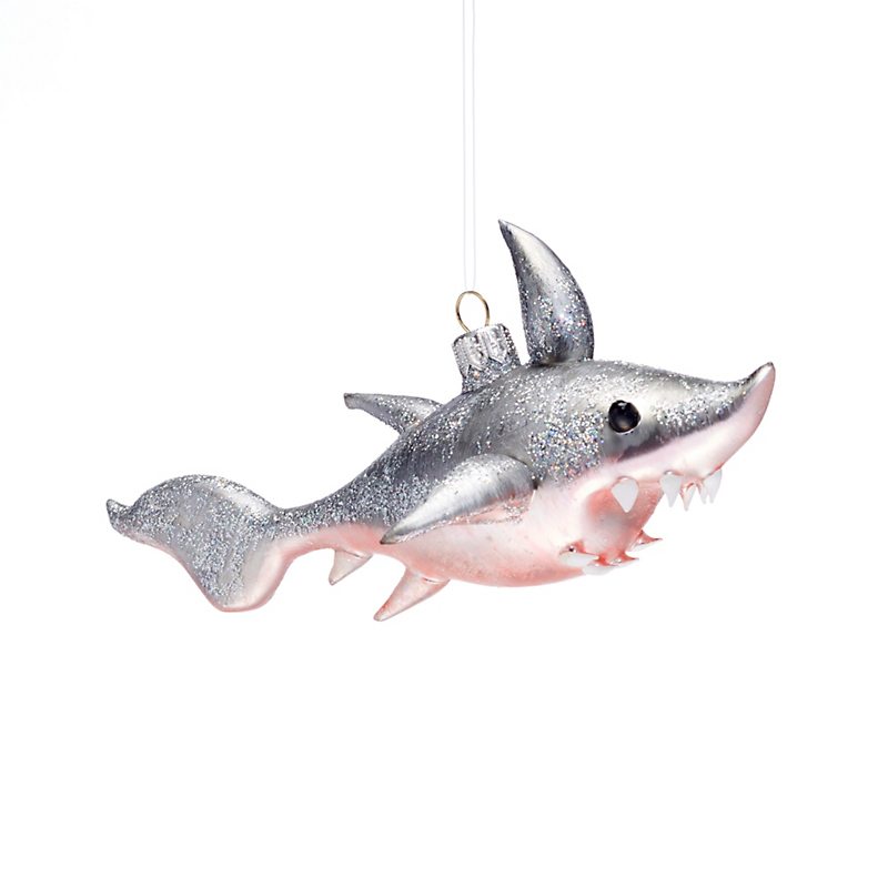 Shark Christmas Ornament